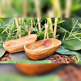 Handgemachte Olivenholz Seifenschale