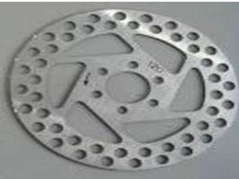 BROO47 2 Stk. Bremsscheiben hinten R+L D 120mm
