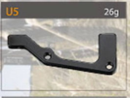 BR0616 Pfosten Halterung Anschlussstück für 203mm Scheibenbremse