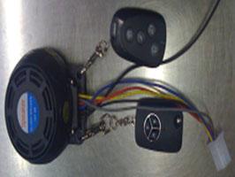 EL0387 Alarmsystem in Lautsprecher Eingebaut, mit Fernbedienung/Schlüssel