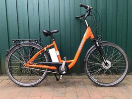 Vorbestellung E-Bike Suntour orange aus Verleih. Ab 14.11.20 verfügbar