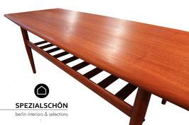 Grete Juel Jalk Sofa Table, Glostrup Möbelfabrik, Danish Design, Coffee Table, Sofa Tisch, Mid Century Modern, Teaktisch, Teak, Holz, Massivholz