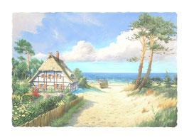 Fischerhaus am Meer