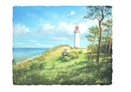 Leuchtturm Dornbusch (Blick vom Klausner)
