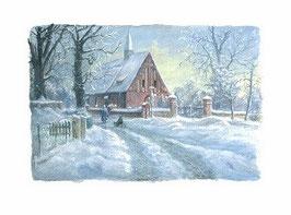 Katzow im Winter