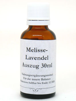 Melisse-Lavendel Essenz 30ml