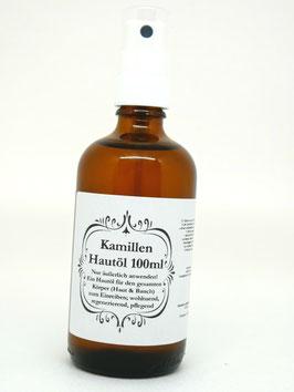 Kamillen Hautöl 100ml