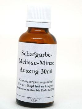 Schafgarbe-Melissen-Minze Essenz 30ml