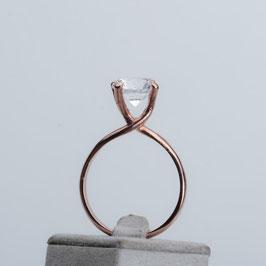 """Vintage Unikat: Ring """"Bergkristall"""""""