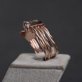 Vintage Unikat: Ring mit kleinem Herz