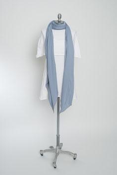 drei Meter Schal: jeansblau.jeansblau