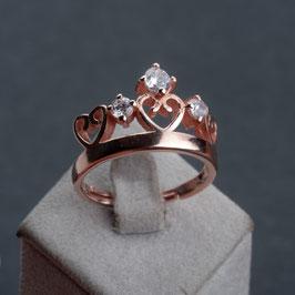 Vintage Unikat: Ring Krone