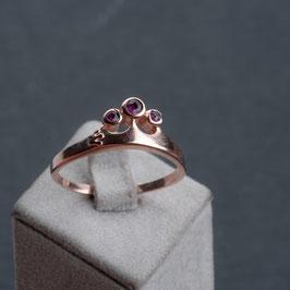 """Vintage Unikat: Ring """"Krönchen"""""""