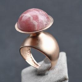 Vintage Unikat: Ring Rodochrosit