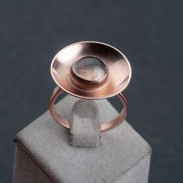 Vintage Unikat: Ring mit Mondstein