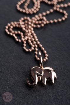 Vintage Unikat: Kugelkette Elefant