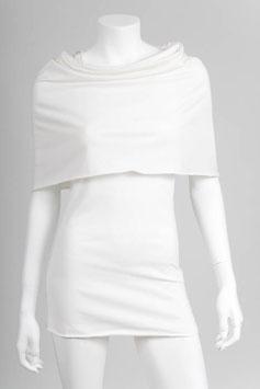 Mini Cape: creamy white