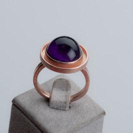 Vintage Unikat: Ring mit Amethyst
