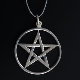 """Unikat: Vintage Anhänger """"Pentagramm"""""""