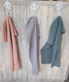 Lappen & Gästehandtuch  Baumwolle gestrickt