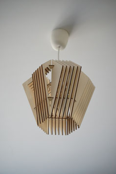 Woody Hive - Luminaire en bois