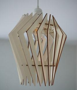 Turbine - Luminaire en bois