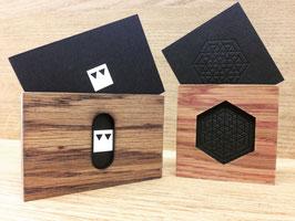 Woody Biz - Porte-cartes de visite