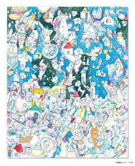 絵画「メランコリック宇宙」