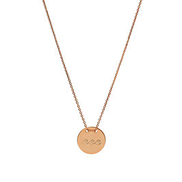 Love Your Island Necklance - Roségold plated