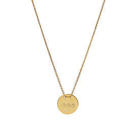 Love Your Island Necklace - Gold plated