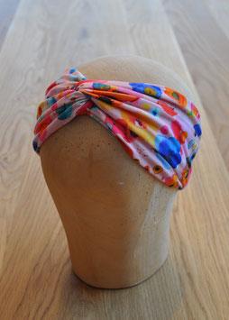 "Haarband ""Aquarellblumen rosa"""