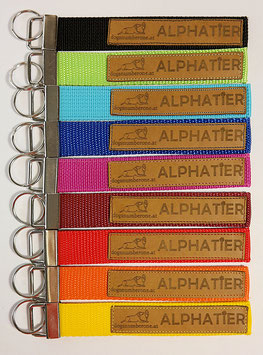 """Schlüsselanhänger """"Alphatier"""""""