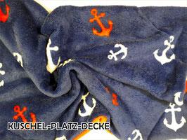 """Kuschel-Platz-Decke """"Modell Summerfeeling"""""""
