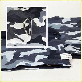 "Loop ""Modell Military blau"" mit Halsbandöffnung"