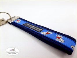 Schlüsselanhänger Webband Hund Mod.58