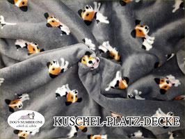 "Kuschel-Platz-Decke ""Modell Dog"""