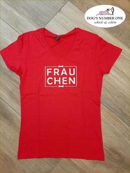 """T-Shirt KA Rot """"FRAUCHEN"""""""
