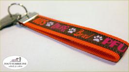 Schlüsselanhänger Webband Hund Mod.39