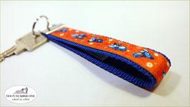 Schlüsselanhänger Webband Hund Mod.48