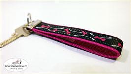 Schlüsselanhänger Webband Hund Mod.47