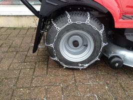 Schneeketten zu Honda Rasentraktor