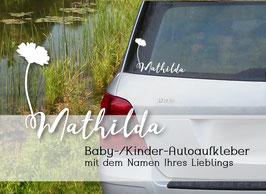 """""""BLÜMCHEN"""" Autoaufkleber Sticker für Baby Kind"""