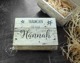 TRAUMDOSE - Holzbox - Geldgeschenk Dose - TRÄUMCHEN für dich