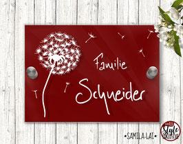 """SAMILA-LAI Pusti"" Türschild RED Style"