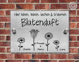 """BlütenDUFT"" Türschild"