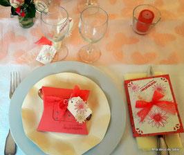 """Table fête des mères """"Pour ma merveilleuse maman!"""""""