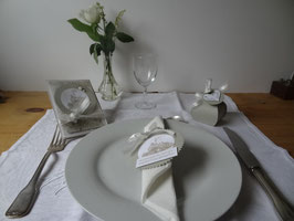 mariage lin & blanc