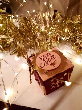 """Noël """"Etoile rosée"""""""