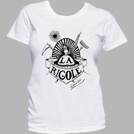 T-shirt sérigraphié La Rigole Femme