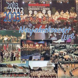 Neujahrskonzert 2003 live